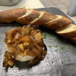 Apple and Caramelized Onion Baked Brie